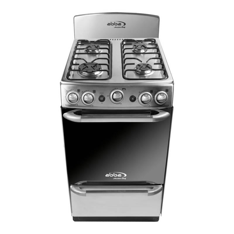 Abba - Estufa de Piso Master Chef AB 201-5M N PL