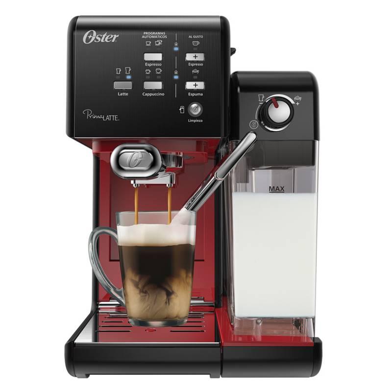 Oster - Cafetera Automática Prima Latte Rojo