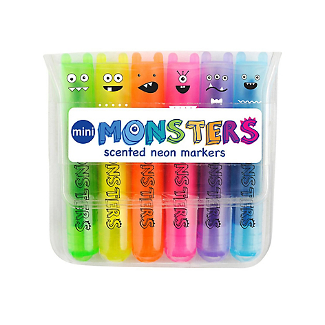 Marcadores Mini Monsters