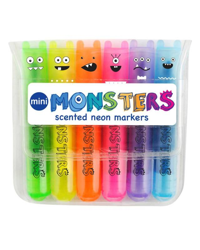 International Arrivals - Marcadores Mini Monsters