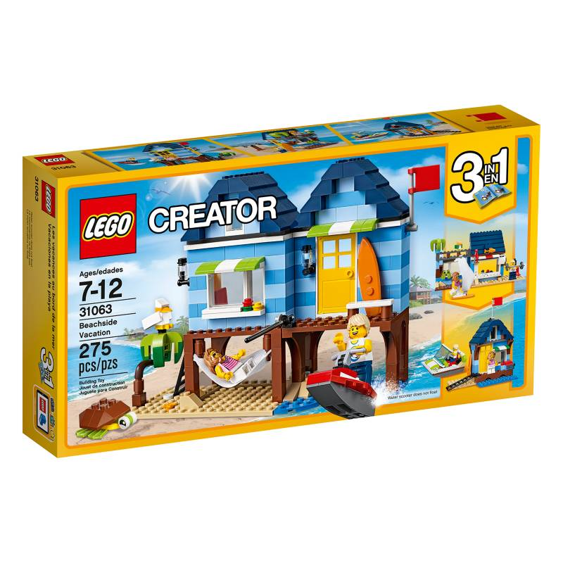 Lego - Vacaciones en la Playa