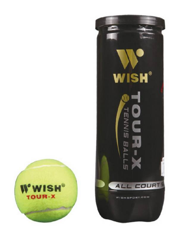 Wish - Pelotas de Tenis Tour X-830 x3