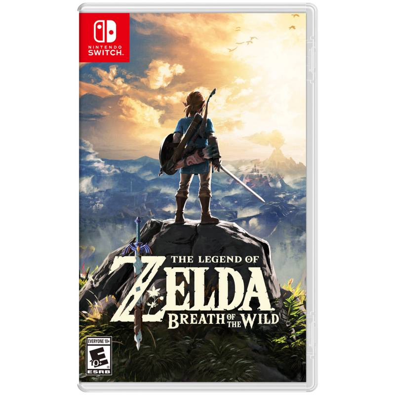 Nintendo - Videojuego Legend of Zelda: Breath of the Wild