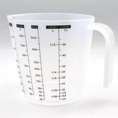 Press - Taza Plástica Medidora 1/2 litro