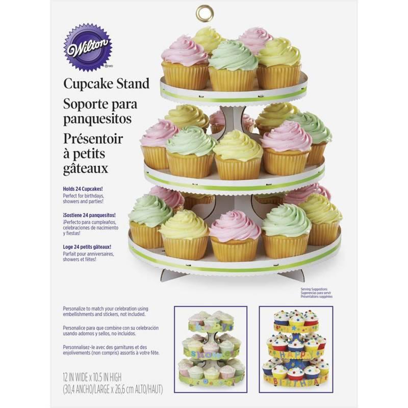 Wilton - Soporte Mesa Cupcakes Blanca
