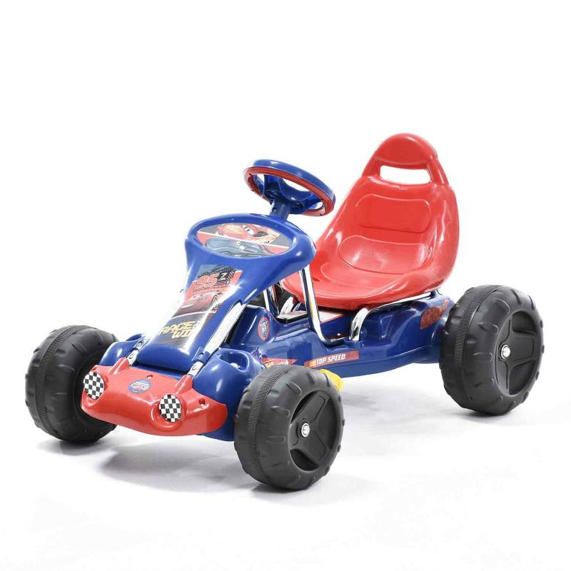 Disney - Go Kart Rayo Mcqueen Cars 3