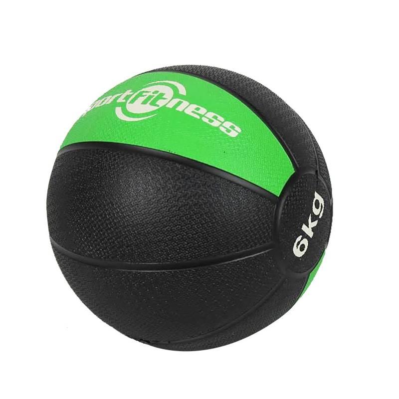 Sportfitness - Balón Medicinal de Rebote 6 Kg