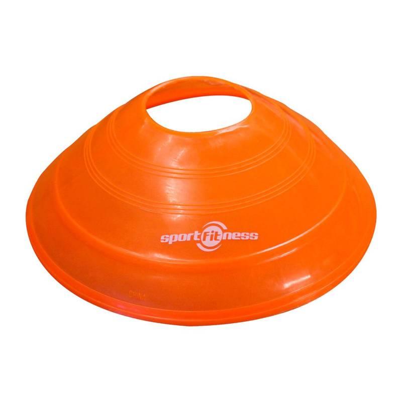 Sportfitness - Cono Medio 2P Naranja