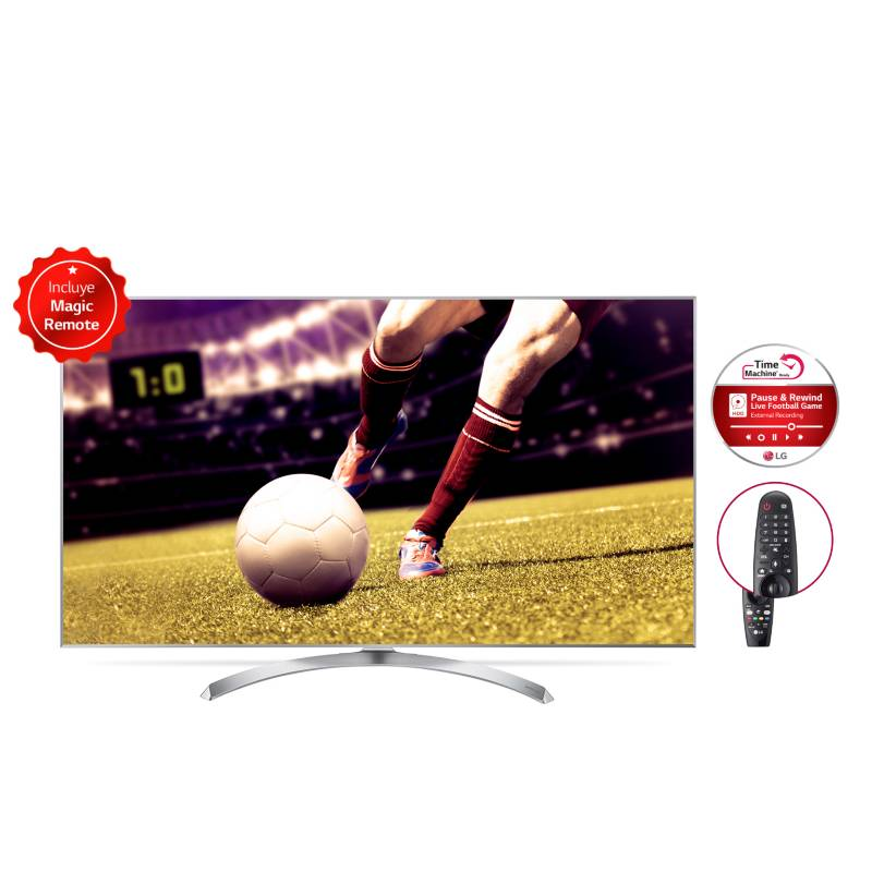 """LG - LED 55"""" 4K Ultra HD Smart TV     55SJ800T"""