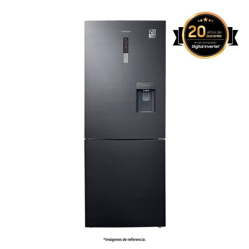 Samsung - Nevera Samsung Congelador Inferior No Frost 432 lt RL4363SBABS/CL