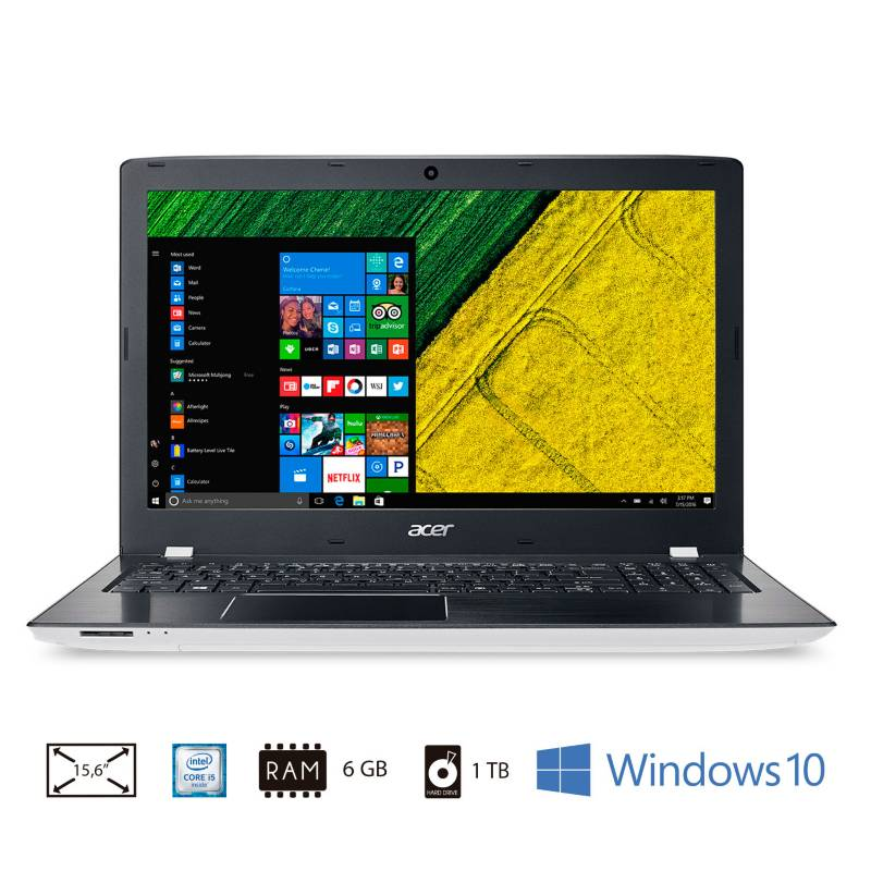 "Acer - Notebook 15,6"" Ci5 6GB 1TB  E5-575G-54VR"