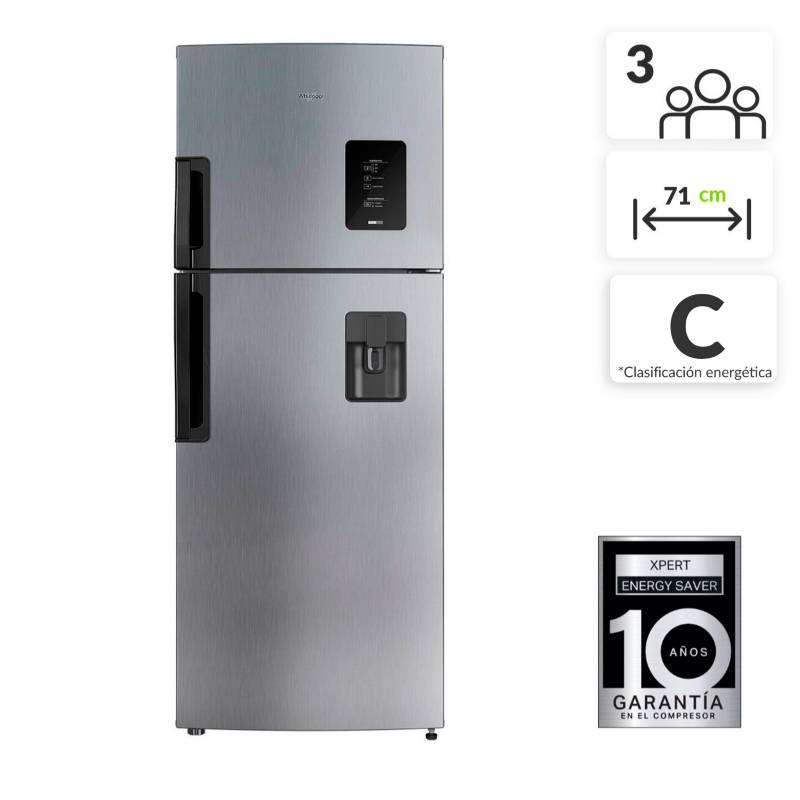 Whirlpool - Nevera Whirlpool Congelador Superior No Frost 435 lt WRW46AKTWW