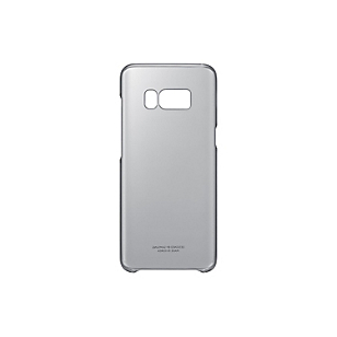 Clear Cover Negro para Galaxy S8