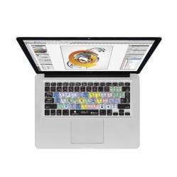 """KB Covers - Protector de Teclado para Macbook Pro/Air 13"""", 14"""" y 15""""-Atajos Adobe Illustrator"""