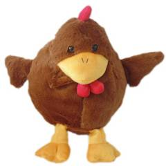 Kisses - Peluche Bola Gallina 25 cm