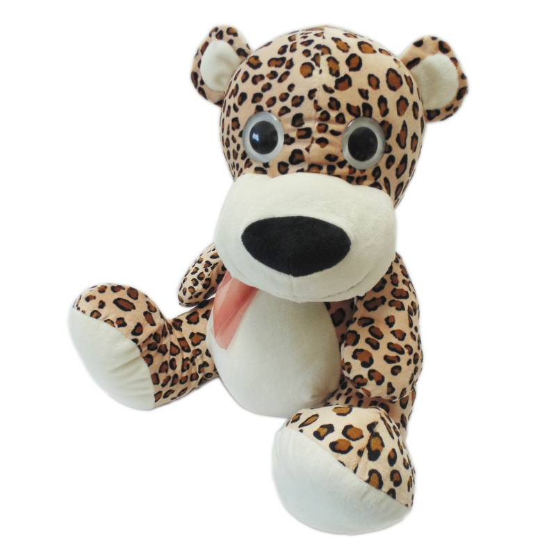 Kisses - Peluche Leopardo 42 cm