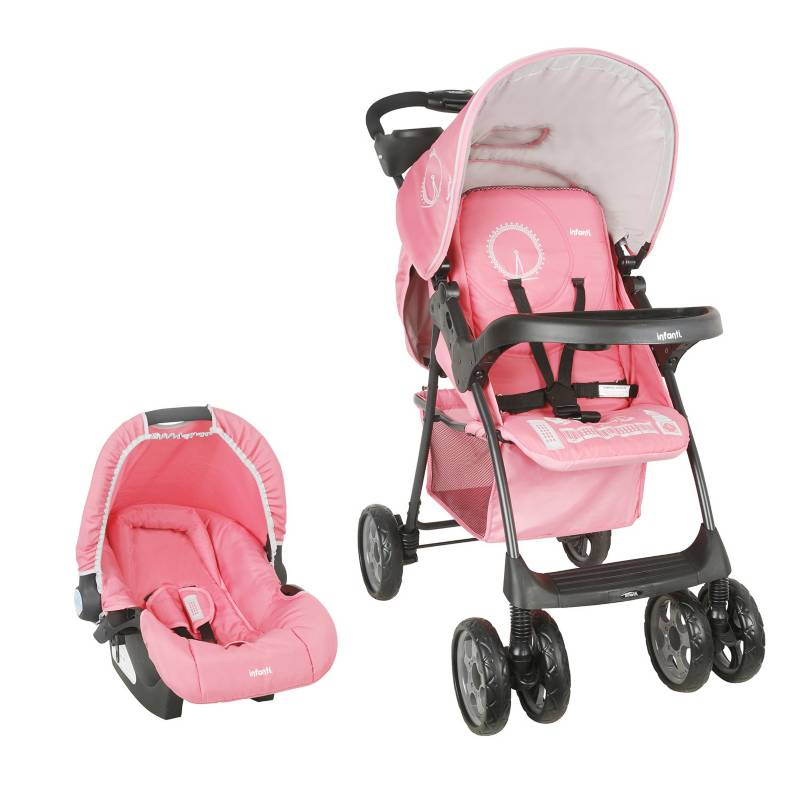 Infanti - Travel System Kei E16 London Raspberry