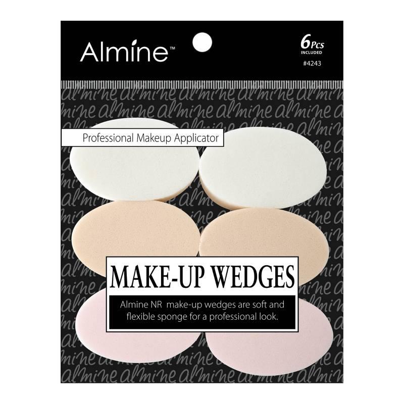 Almine - Cuñas Ovaladas especial para Maquillaje x 6