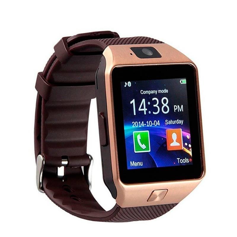 Smartwatch - Smartwatch DZ09 + Cámara Dorado