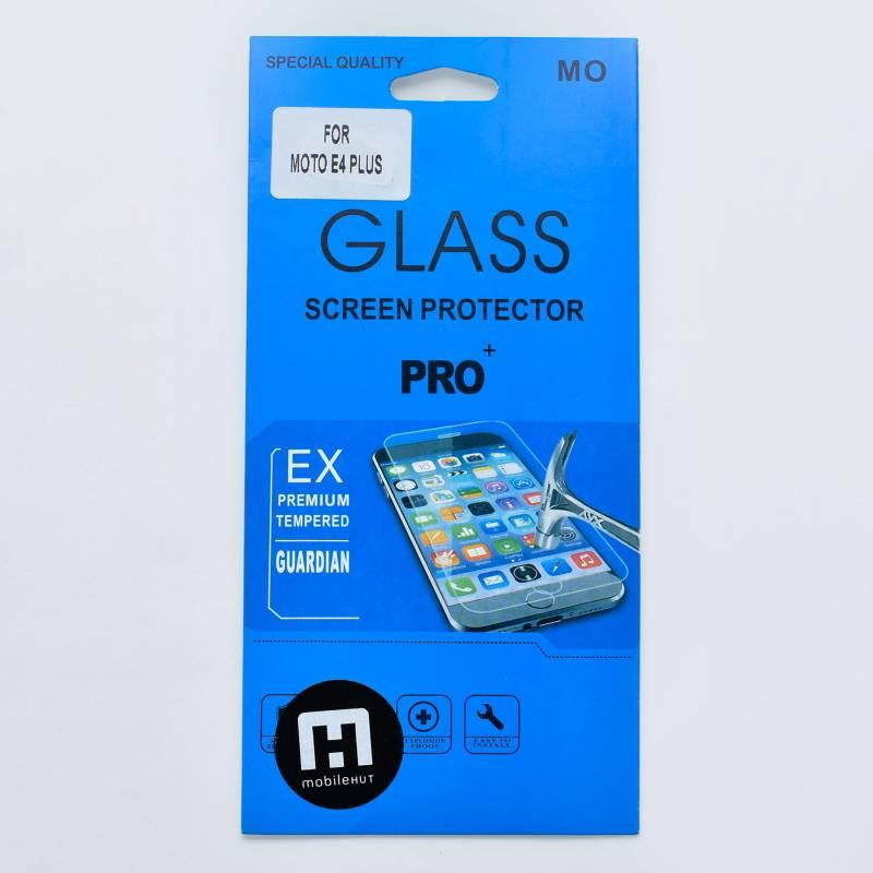 Mobile Hut - Lámina Glass para Motorola E4 Plus