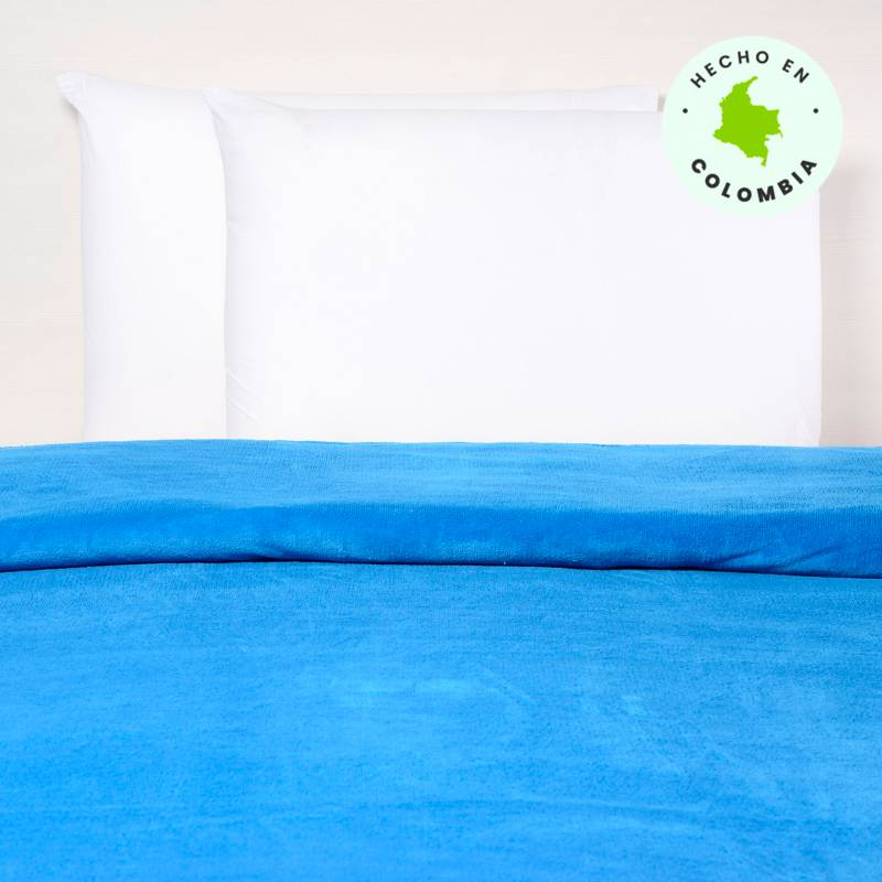 Mica Kids - Frazada Coralfleece Azul Nw Doble