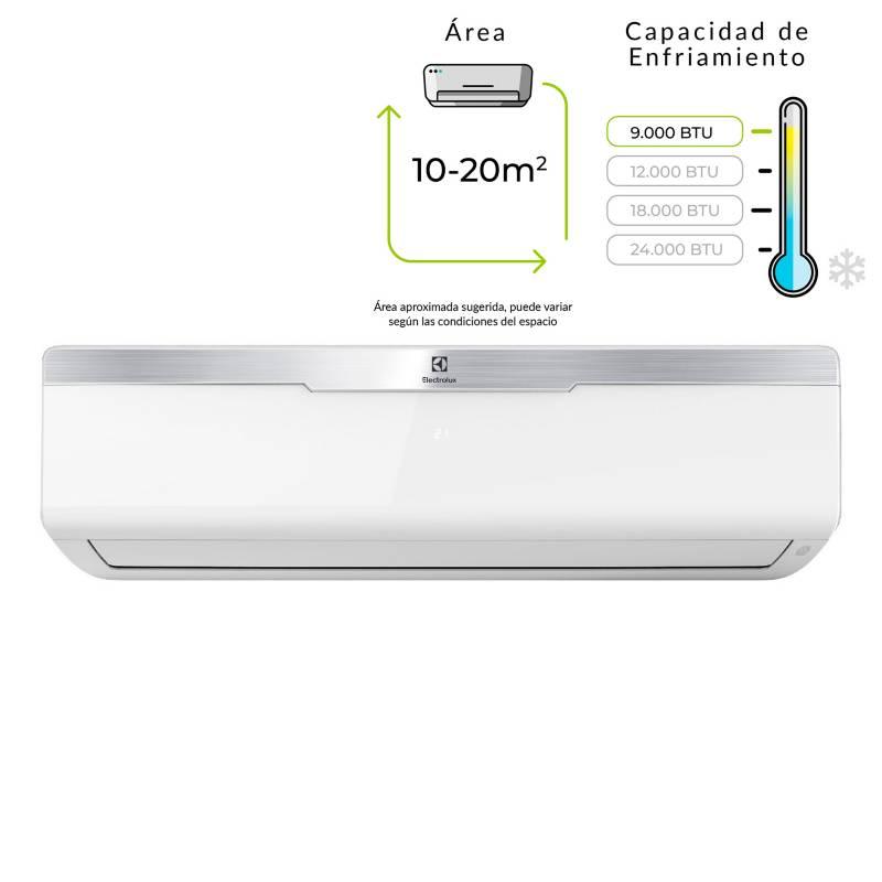 Electrolux - Aire Acondicionado Minisplit 9.000 BTU 220V Blanco