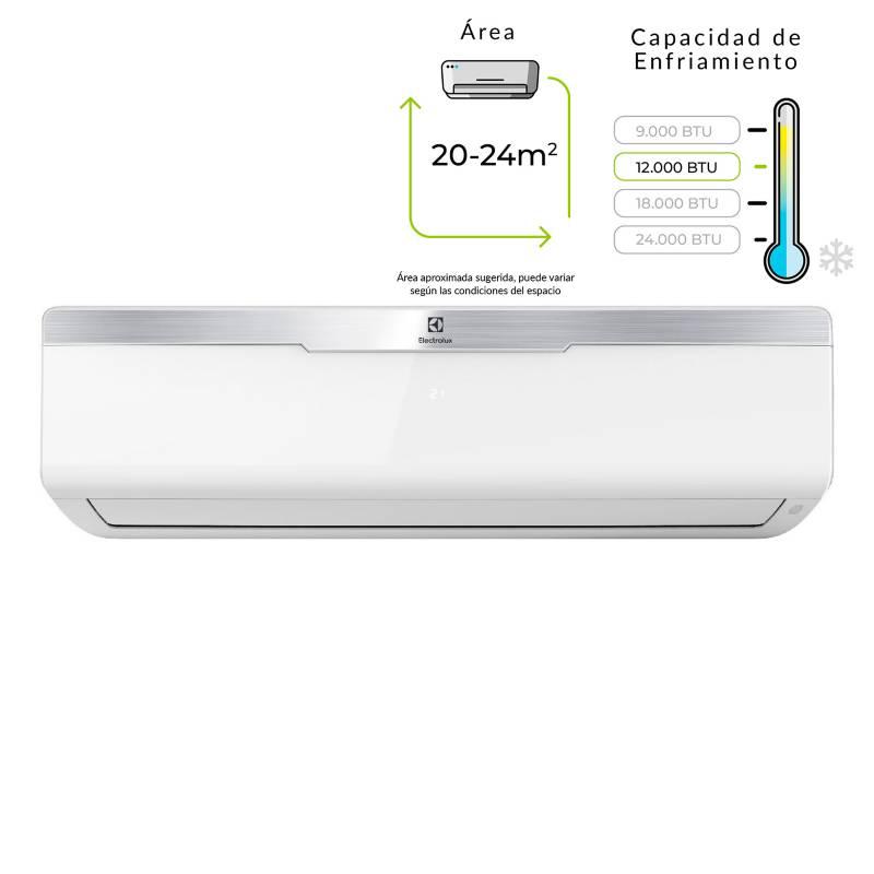 Electrolux - Aire Acondicionado Minisplit 12.000 BTU 220V Blanco