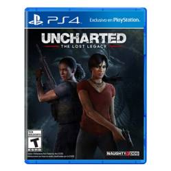 Naughty Dog - Videojuego Uncharted Lost Legacy
