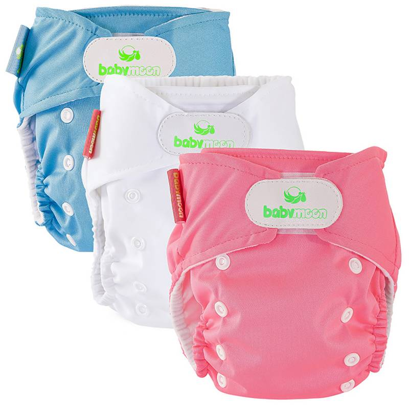 Baby Moon - Pack x 3 Ecopañales