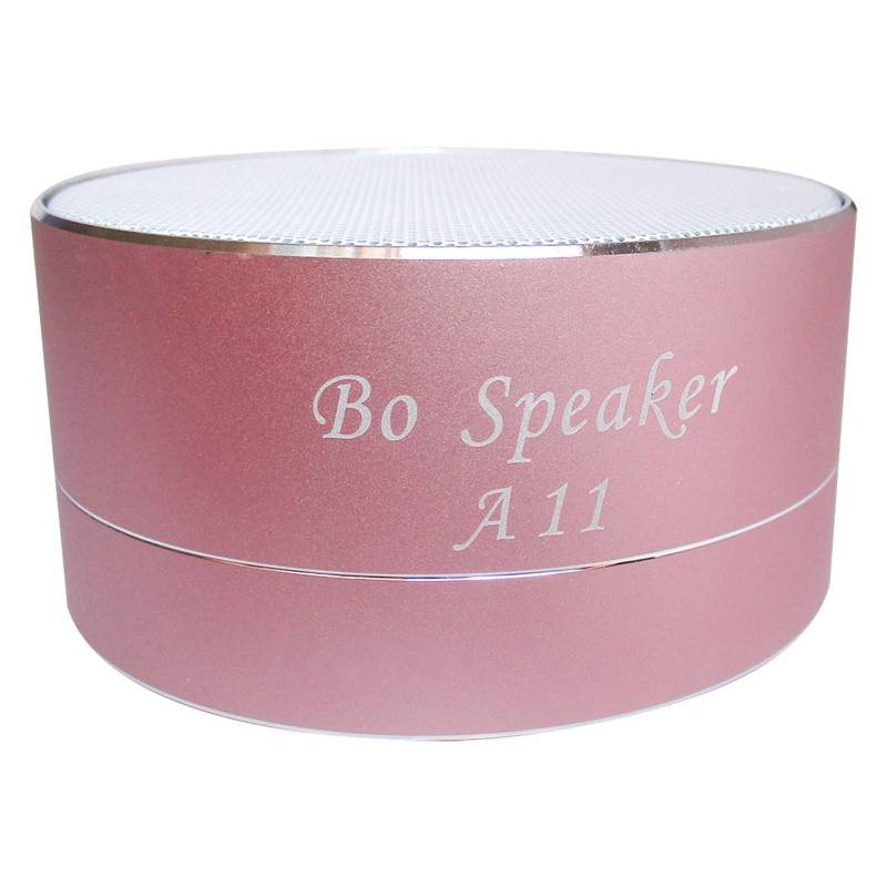 Speaker - Parlante Bluetooth Mini Altavoz Rosado A11