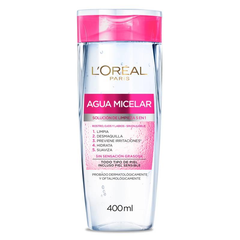 Loreal - Limpieza Dermo Expertise Agua Micelar 400 ml