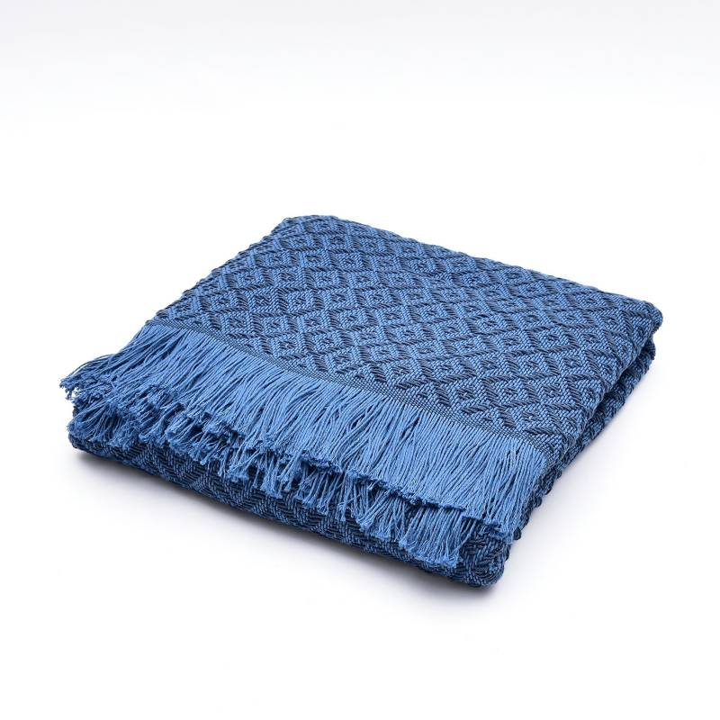 Basement Home - Throw Primavera Azul 130 x 180