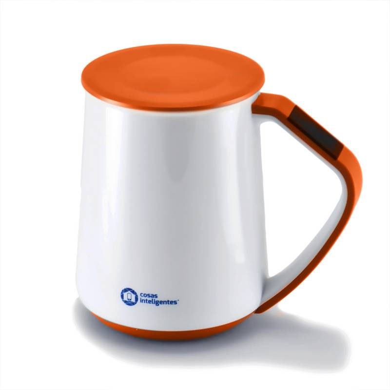 Cosas Inteligentes - Mug Inteligente Naranja