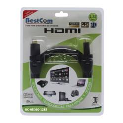 BestCom  - Cable HDMI 30AWG 360 1.83 mt