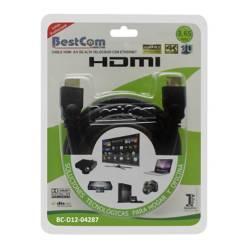 BestCom  - Cable HDMI Alta Velocidad Ethernet