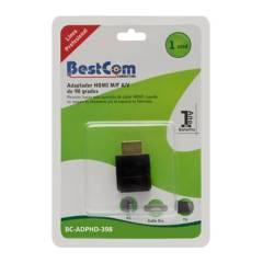 BestCom  - Adaptador HDMI M F 90 Grados
