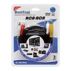 Cable Audio y Video 3 RCA-3 RCA