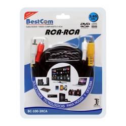 Cable de Audio VID 3 RCA-3 RCA