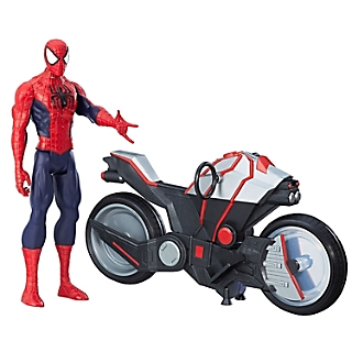 TITAN HERO SERIES SPIDERMAN CON MOT