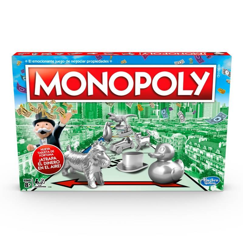 Hasbro Games - Juego de Mesa Monopoly Clasico