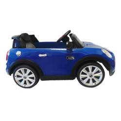 Carro Eléctrico Azul