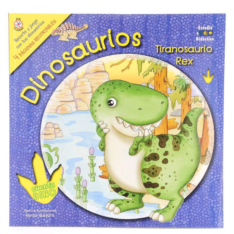 Círculo de lectores - Dinosarurio Tiranosaurio Rex
