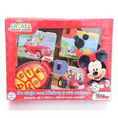 Círculo de lectores - La Casa De Mickey Mouse - Llavero Con Sonidos
