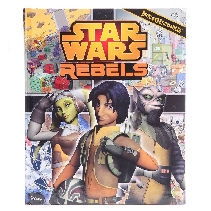 Círculo de lectores - Star Wars Rebels Busca y Encuentra