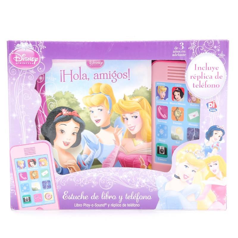 """Círculo de lectores - """"Hola Amigos"""" Disney Princesa-Set Teléfono"""