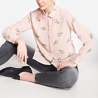 BLUSA CONF.  ML KLBLB142ML ROSE XS