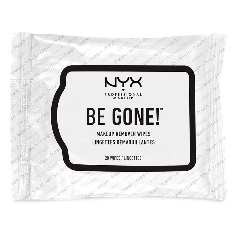 NYX Professional Makeup - Toallas desmaquilladoras Be Gone!