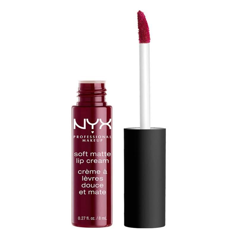 NYX Professional Makeup - Labial Líquido Soft Matte Metallic Lip Cream