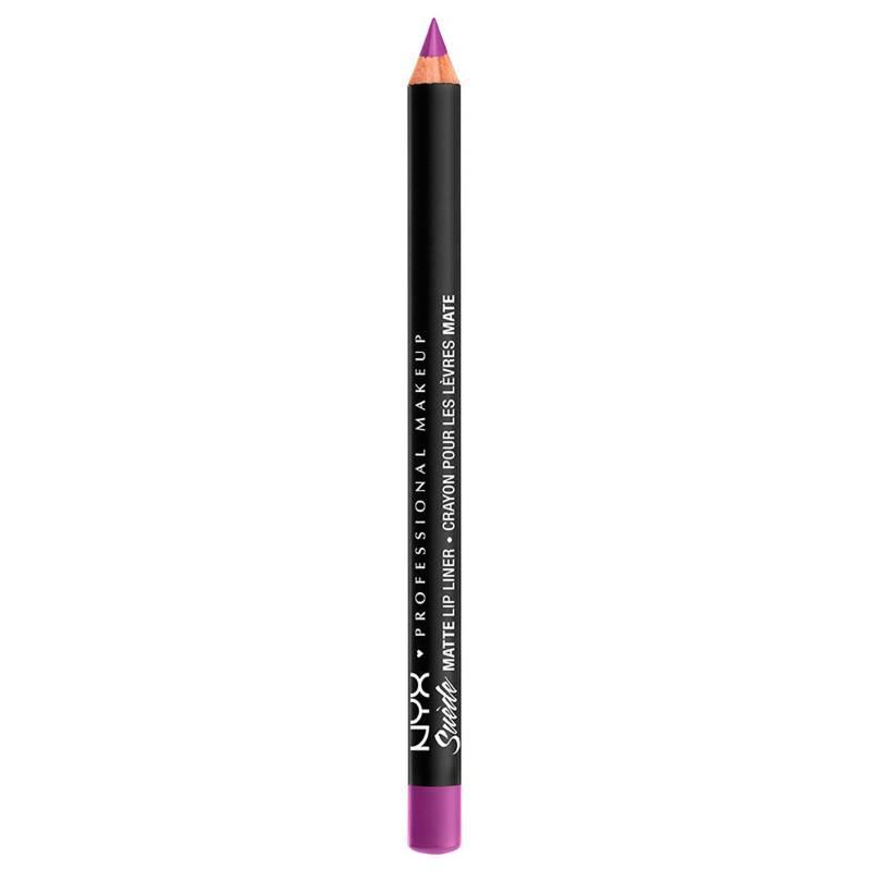 NYX Professional Makeup - Delineador De Labios En Lápiz Suede Matte