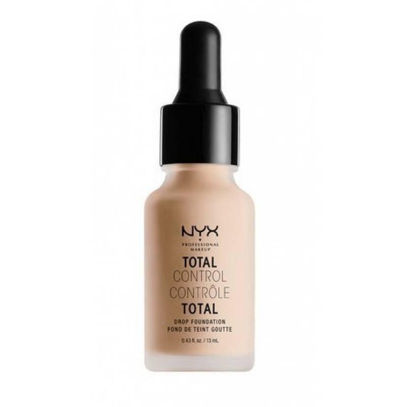 NYX Professional Makeup - Base Líquida Con Gotero Total Control